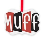 Muff Picture Ornament
