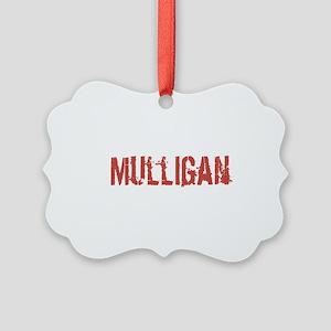 Mulligan Picture Ornament