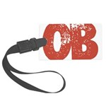 OB Large Luggage Tag