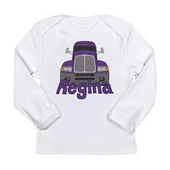 Trucker Regina Long Sleeve Infant T-Shirt