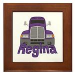 Trucker Regina Framed Tile