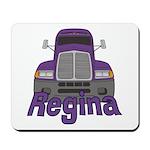 Trucker Regina Mousepad