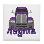 Trucker Regina Tile Coaster