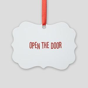Open the Door Picture Ornament