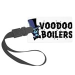 Voodoo Boilers 10 Large Luggage Tag