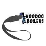 Voodoo Boilers 10 Small Luggage Tag