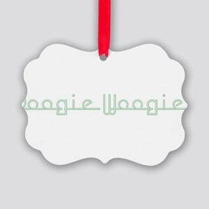 BoogieWoogie10x8 Picture Ornament