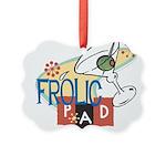 FrolicPad10 Picture Ornament