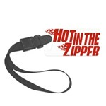 HotintheZipper10 Small Luggage Tag