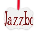 Jazzbo10 Picture Ornament