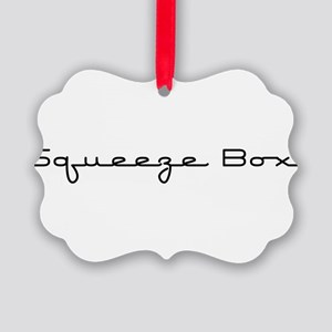 SqueezeBox10x8 Picture Ornament