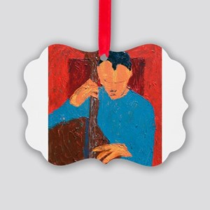 Doghouse Picture Ornament