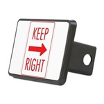 Keep Right 10 Rectangular Hitch Cover