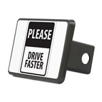 Please Drive 8 Rectangular Hitch Cover