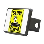 Slow Driver 8 Rectangular Hitch Cover