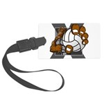 Apex Volleyball Large Luggage Tag