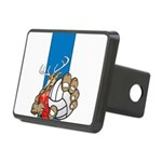 Bucks County Volleyball Rectangular Hitch Cover
