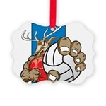 Bucks County Volleyball Picture Ornament