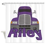 Trucker Riley Shower Curtain