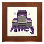 Trucker Riley Framed Tile