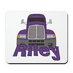 Trucker Riley Mousepad