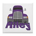 Trucker Riley Tile Coaster
