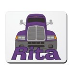 Trucker Rita Mousepad