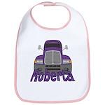 Trucker Roberta Bib