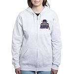 Trucker Rosemary Women's Zip Hoodie