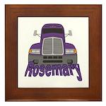 Trucker Rosemary Framed Tile
