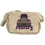 Trucker Ruby Messenger Bag