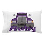 Trucker Ruby Pillow Case