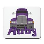 Trucker Ruby Mousepad