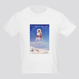 Our Lady of the Arctic Snows Kids Light T-Shirt