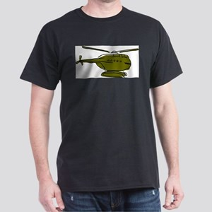 Helicopter8 Black T-Shirt