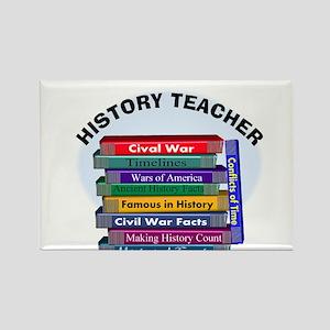 hISTORY TEACHER Rectangle Magnet