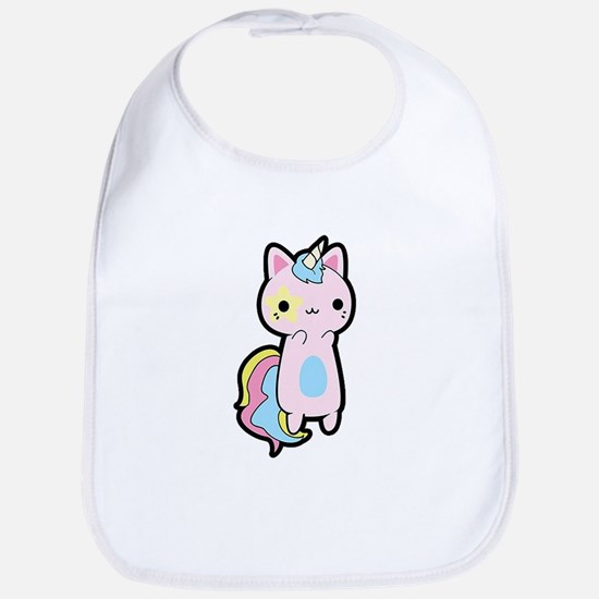 Unicorn Cat Baby Bib