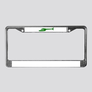 Helicopter15 License Plate Frame