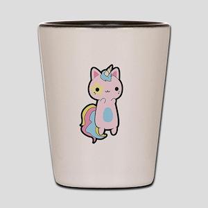 Unicorn Cat Shot Glass