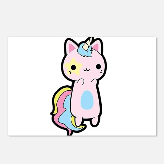 Unicorn Cat Postcards (Package of 8)