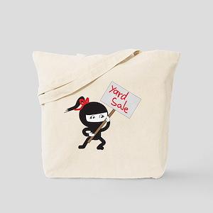 Yard Sale Ninjas Logo Tote Bag