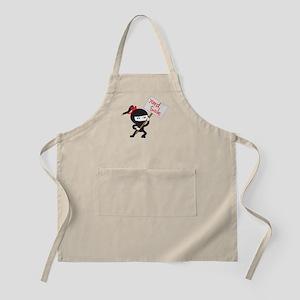 Yard Sale Ninjas Logo Apron