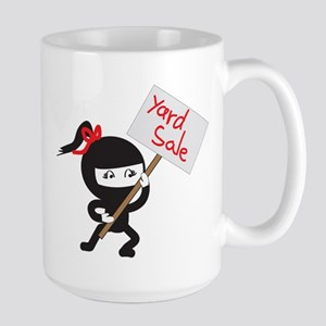 Yard Sale Ninjas Logo Large Mug