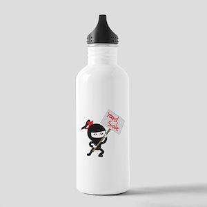 Yard Sale Ninjas Logo Stainless Water Bottle 1.0L