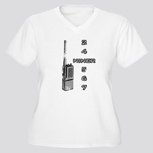 Tommy Boy Niner Women's Plus Size V-Neck T-Shirt
