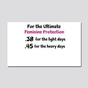 For the Ultimate Feminine Protection Car Magnet 20