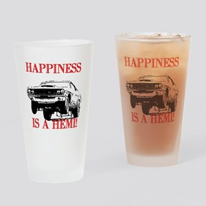 AFTMHappinessIsAHemi! Drinking Glass