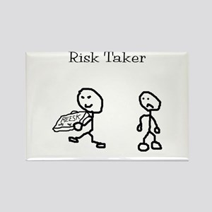 Risk Taker Rectangle Magnet