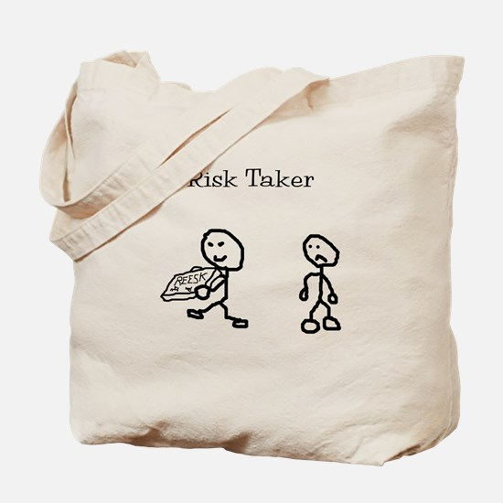 Risk Taker Tote Bag