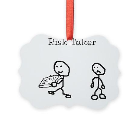 Risk Taker Picture Ornament